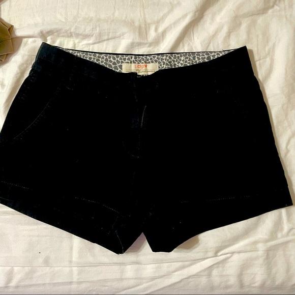 J crew linen chino shorts 100% cotton jcrew black